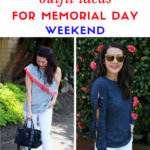 Easy outfit ideas for Memorial Day weekend – parties, BBQ's and get togethers!