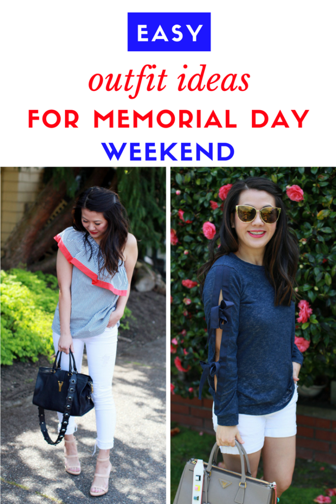 Easy outfit ideas for Memorial Day weekend