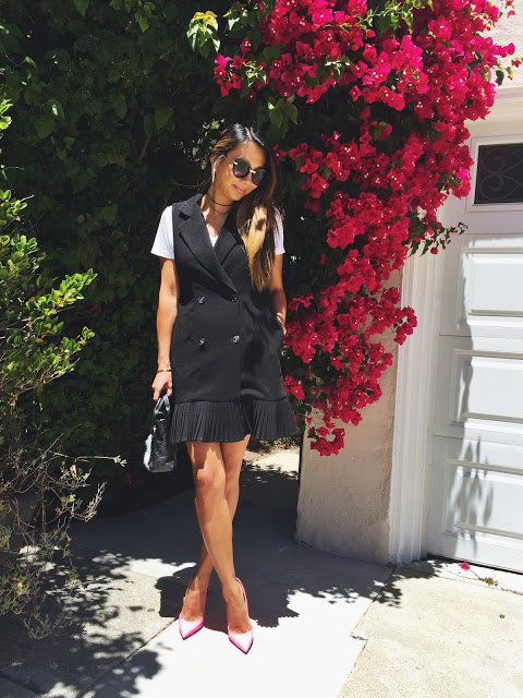 Summer Outfit Ideas: Vest Dress