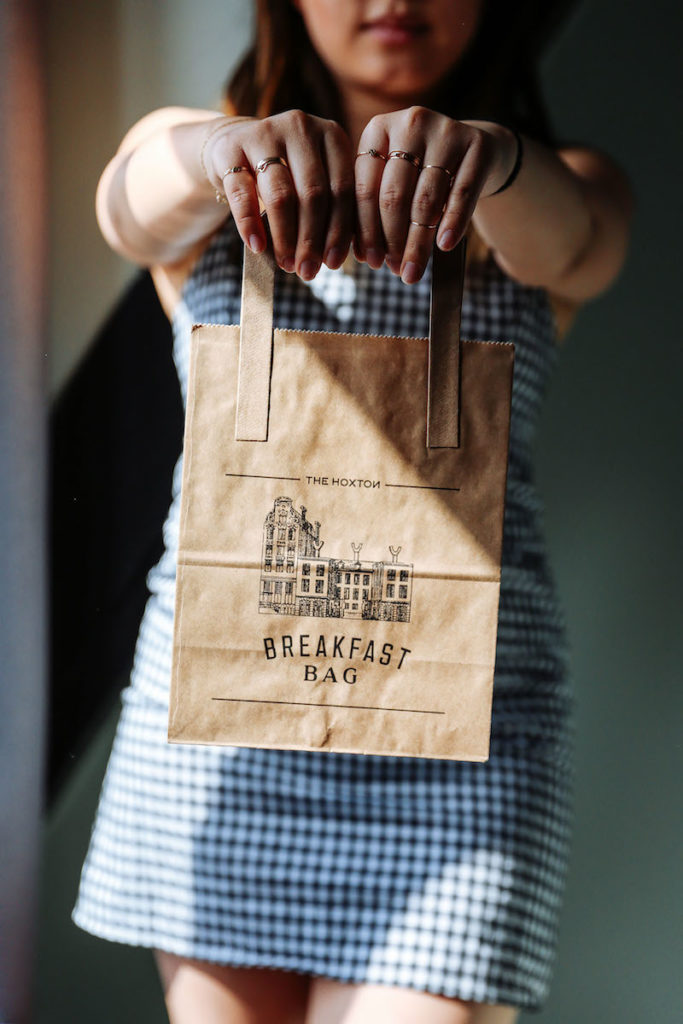 The Hoxton Breakfast Bag