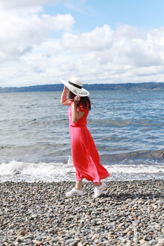 beach maxi dress