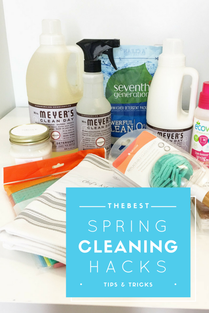 Best Spring Cleaning Tips the best spring cleaning hacks - tips, tricks (+ free cleaning