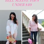 Chic Bell Sleeve tops under $40 – Work to Happy Hour inspiration