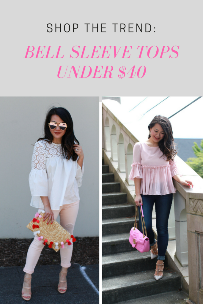 Bell Sleeve Tops under $40
