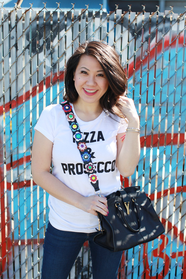 Pizza and Prosecco tee