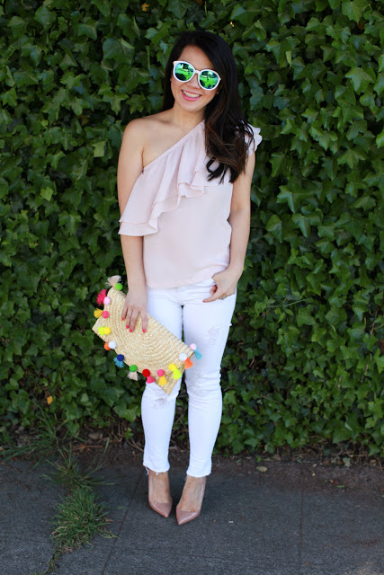 How to Wear Ruffles and Look Chic