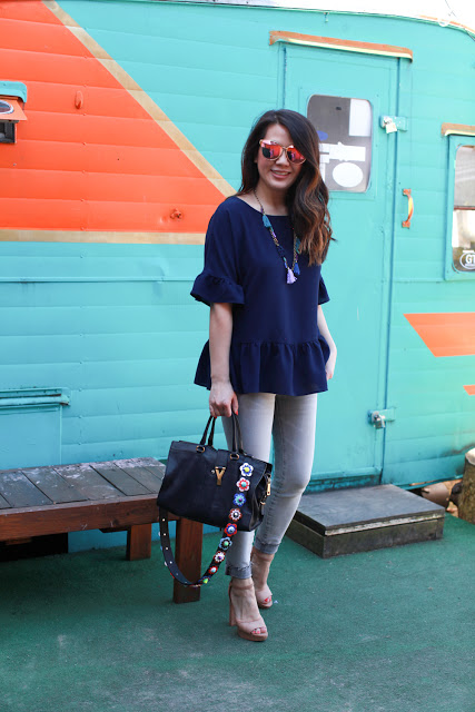 Ruffle tops for Summer