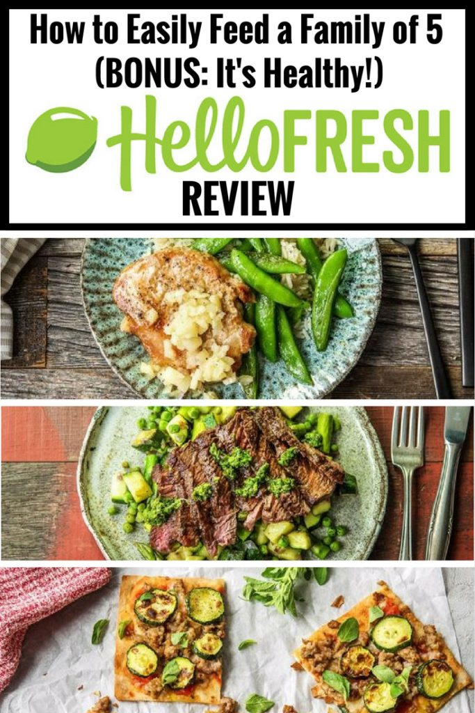 Hellofresh  Actual Size
