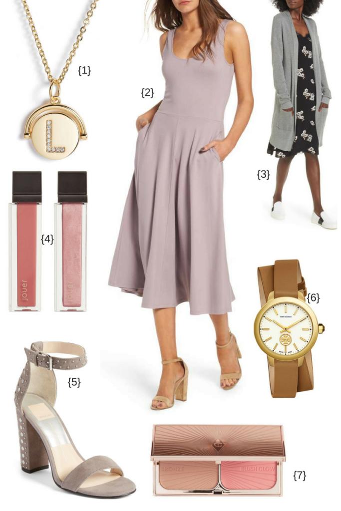 Midi Dress Look for Fall