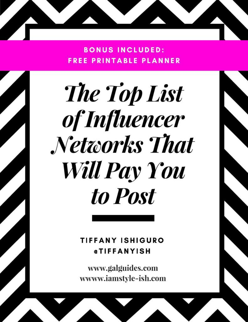 The top influencer networks that will pay you to post