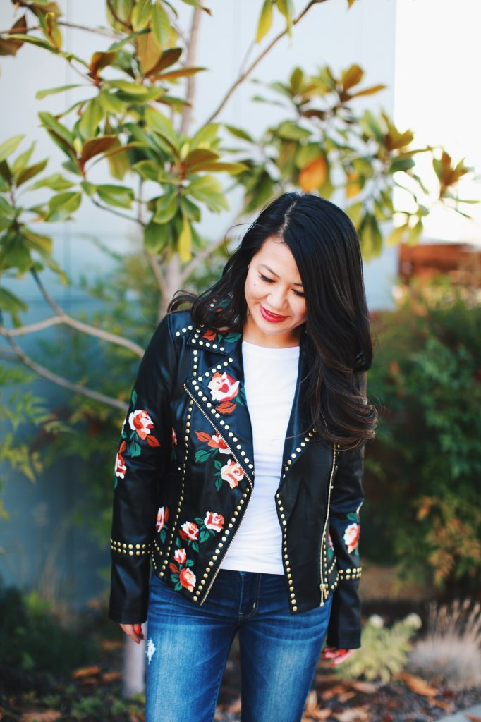 Anna Sui x Macy's Leather Jacket
