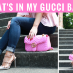 Pink Gucci Marmont Bag Review + What's in My Bag! (Video)
