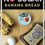 Healthy No Sugar Banana Bread – Perfect After School Snack!