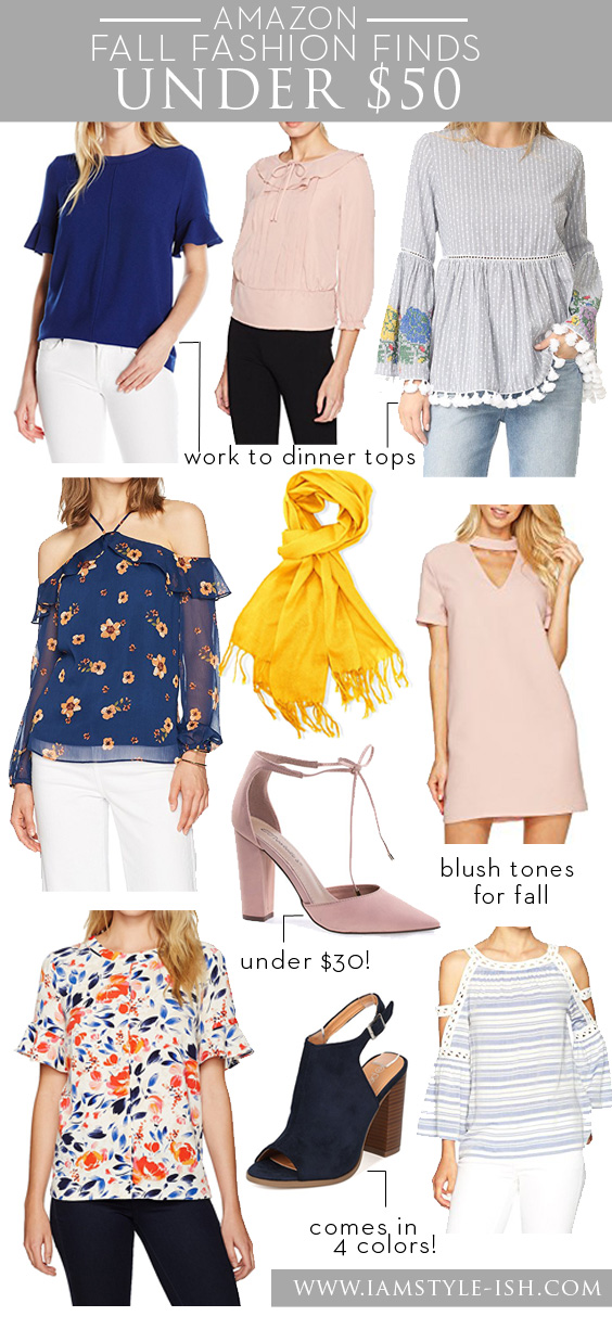 What to buy at Amazon: Fall Fashion Under $50