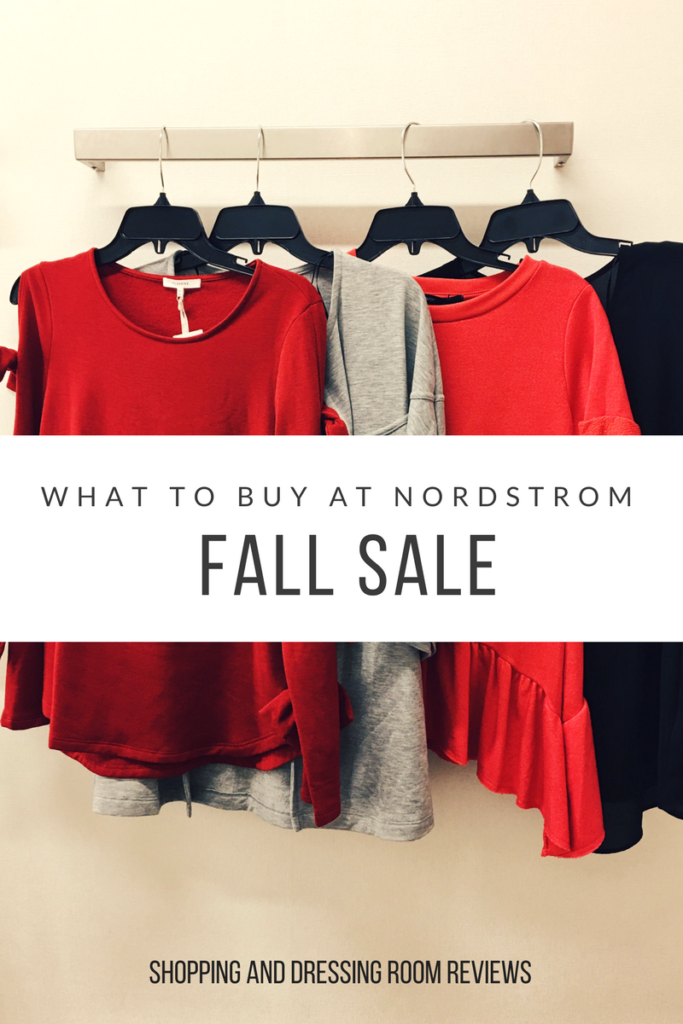 what to buy at Nordstrom Fall Sale