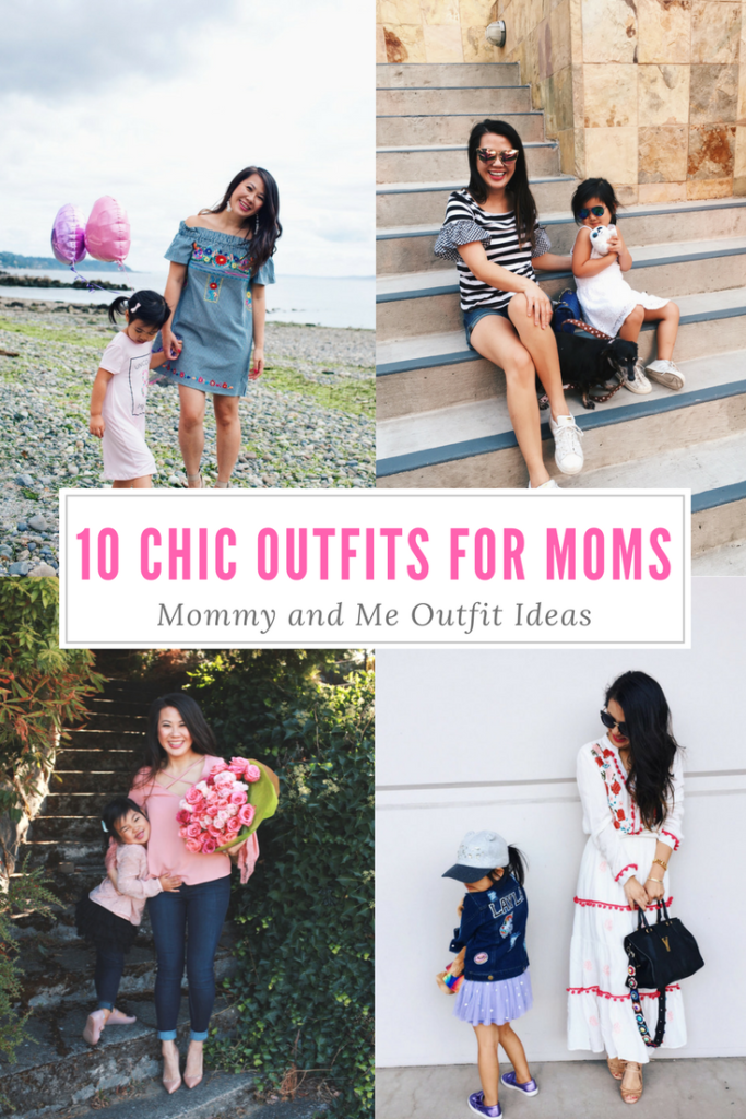 10 chic outfit ideas for moms