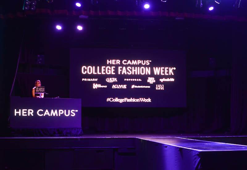 Her Campus College Fashion Week 2017