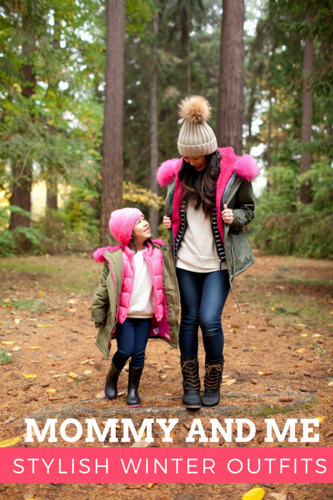Mommy and Me Stylish Winter Outfits