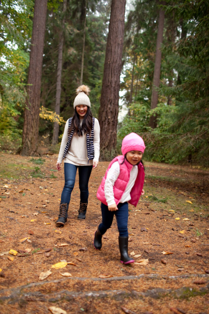 the best rain boots for winter for mom and daughter