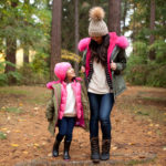 Stylish Winter Outfits for Mommy and Daughter