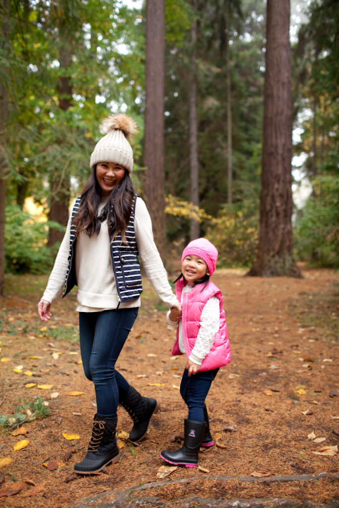 stylish mommy and me winter looks