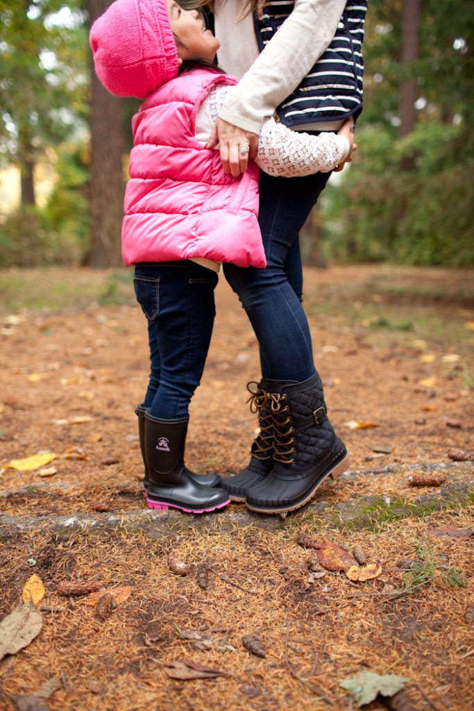 The best all weather boots for mommy and me
