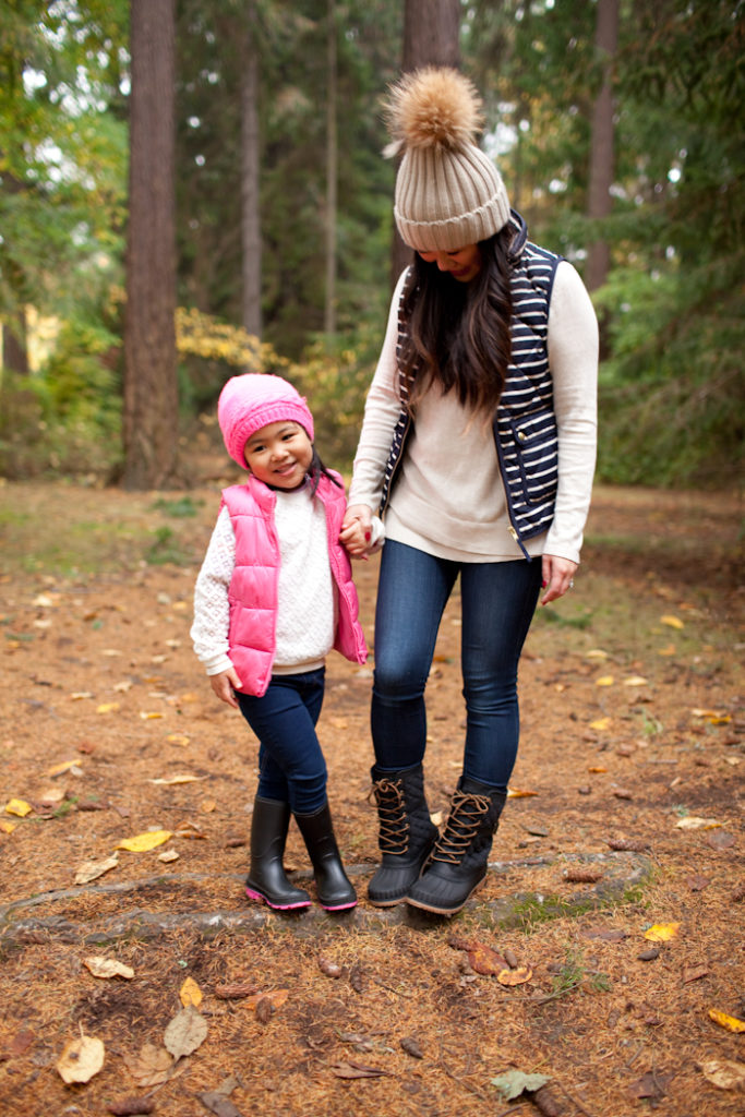 Cute winter looks for mommy and me