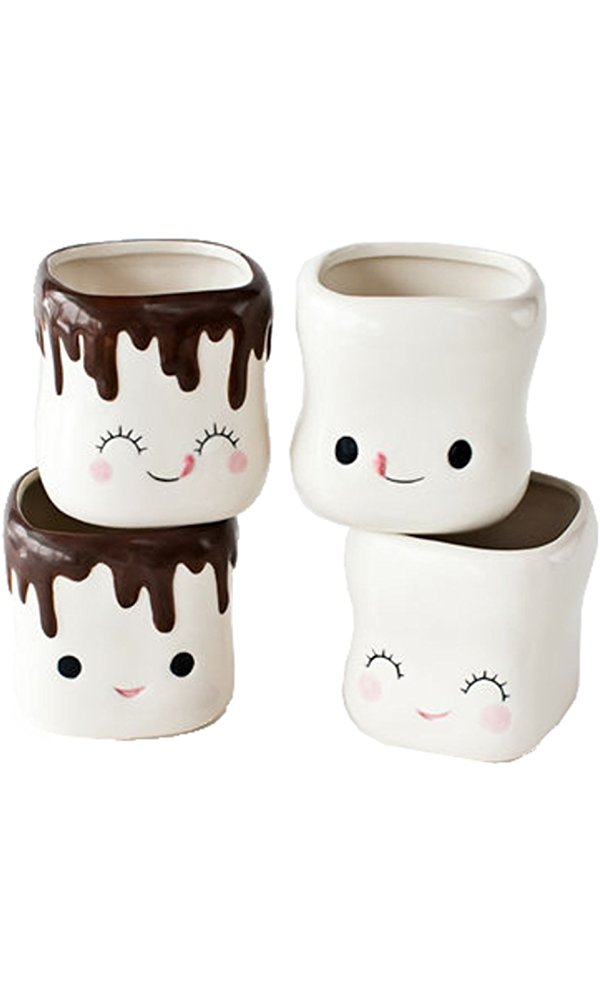 marshmallow hot chocolate mugs