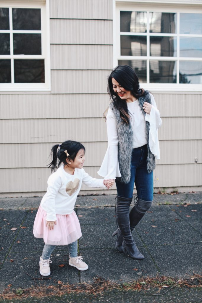 Mommy and Me Winter outfit inspiration