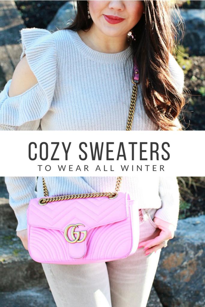 cozy sweaters to wear all winter