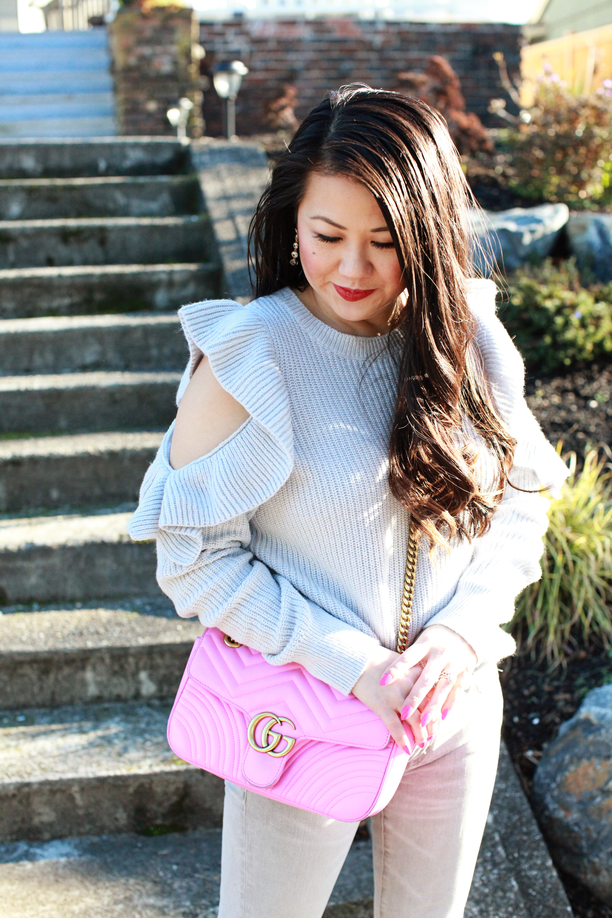 5 ruffle sweaters you need to own right now