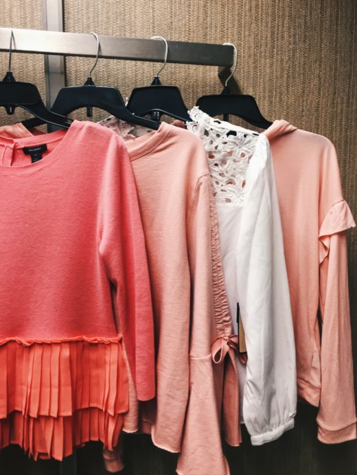 Nordstrom Spring Tops Haul