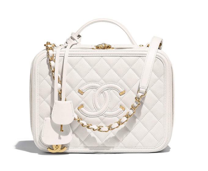Chanel Vanity Case Spring 2018 White 616ff8698f098