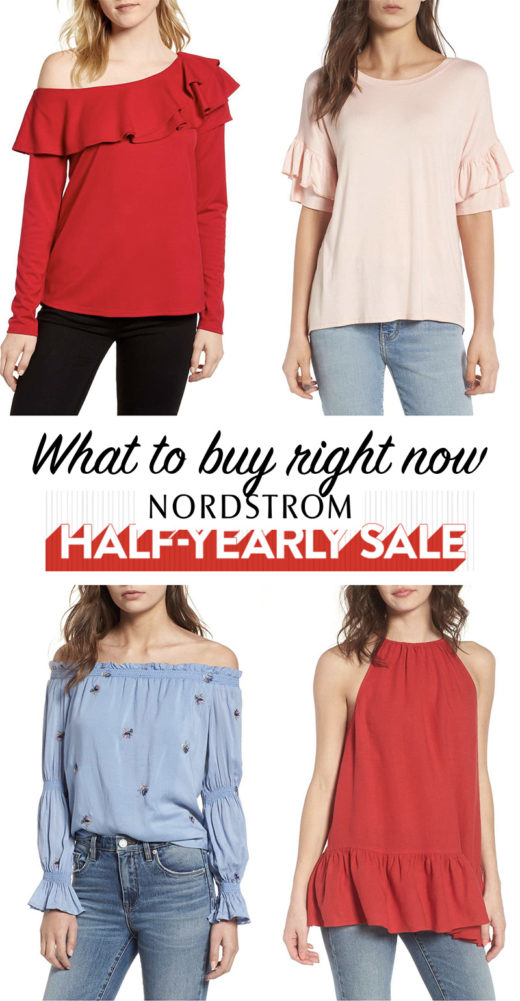 nordstrom half yearly sale 2018 - spring fashion picks
