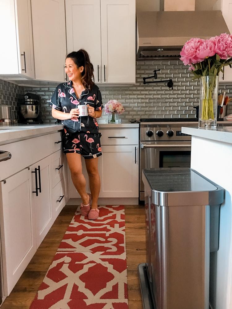 Modern white kitchen design - house tour
