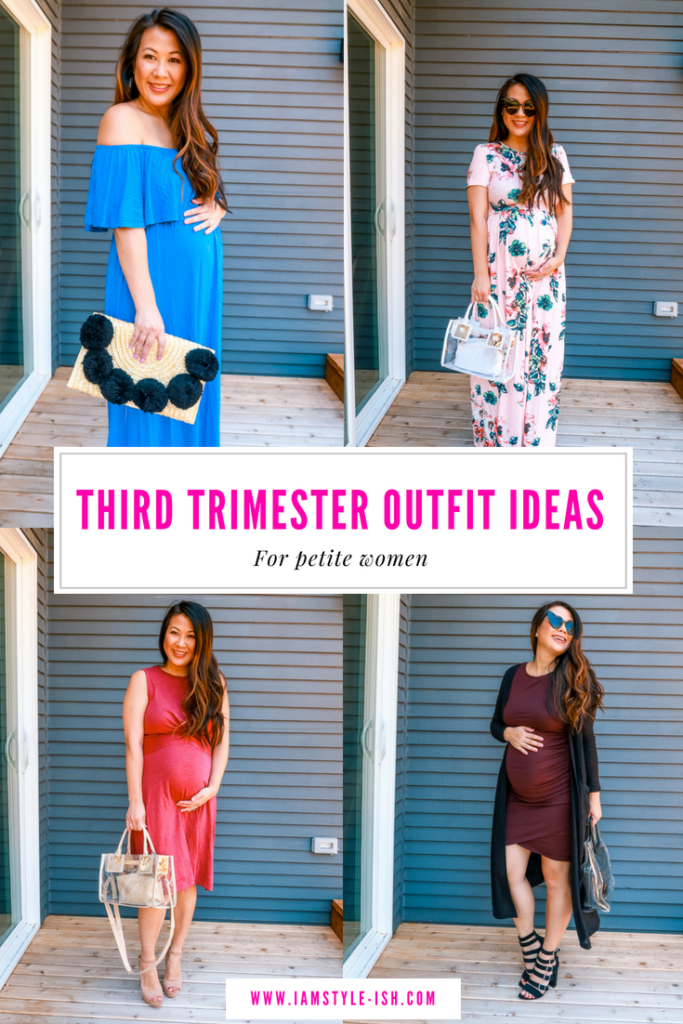 f179366463a64 Chic & Easy Third Trimester Outfit Ideas