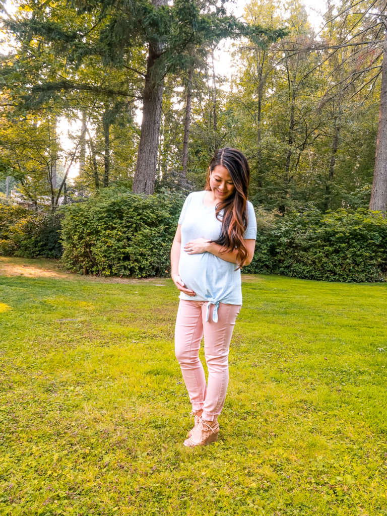 Third Trimester Fall Outfit Ideas
