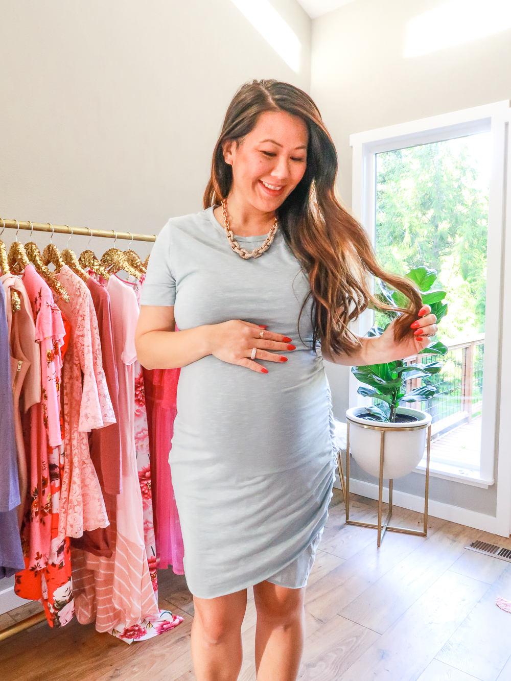 75cd46ed3080f Amazon Dress - third trimester pregnancy fashion-3 - I am Style-ish