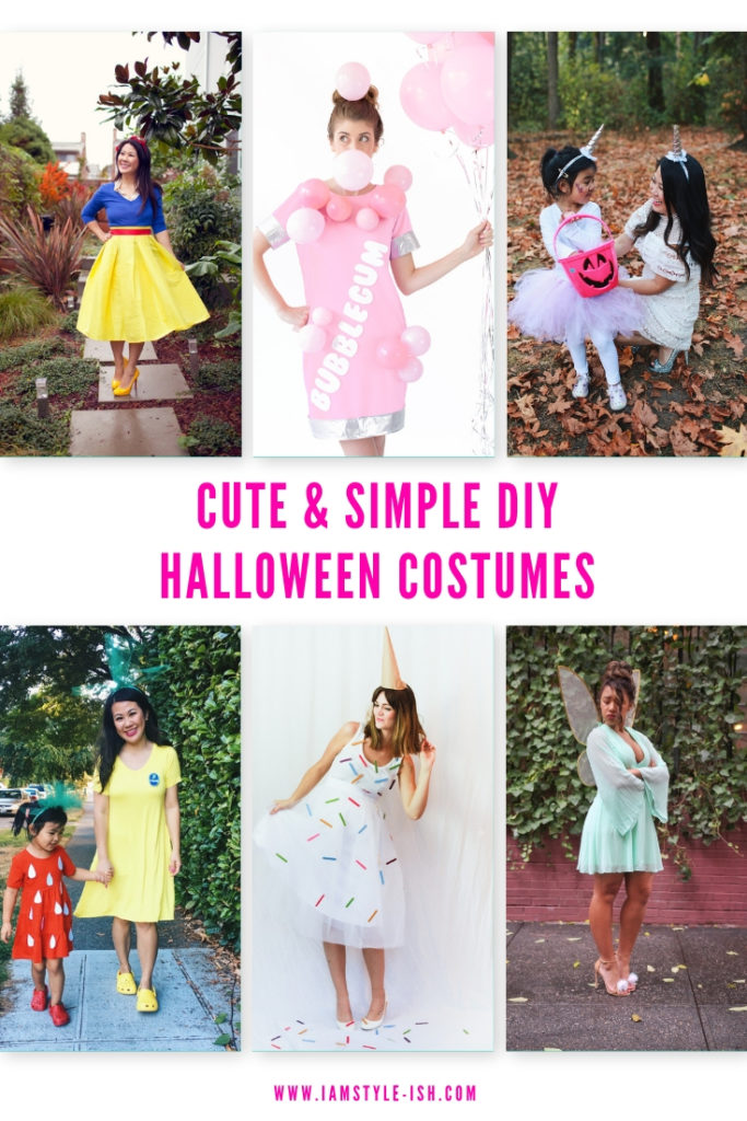 Cute Simple Diy Costumes