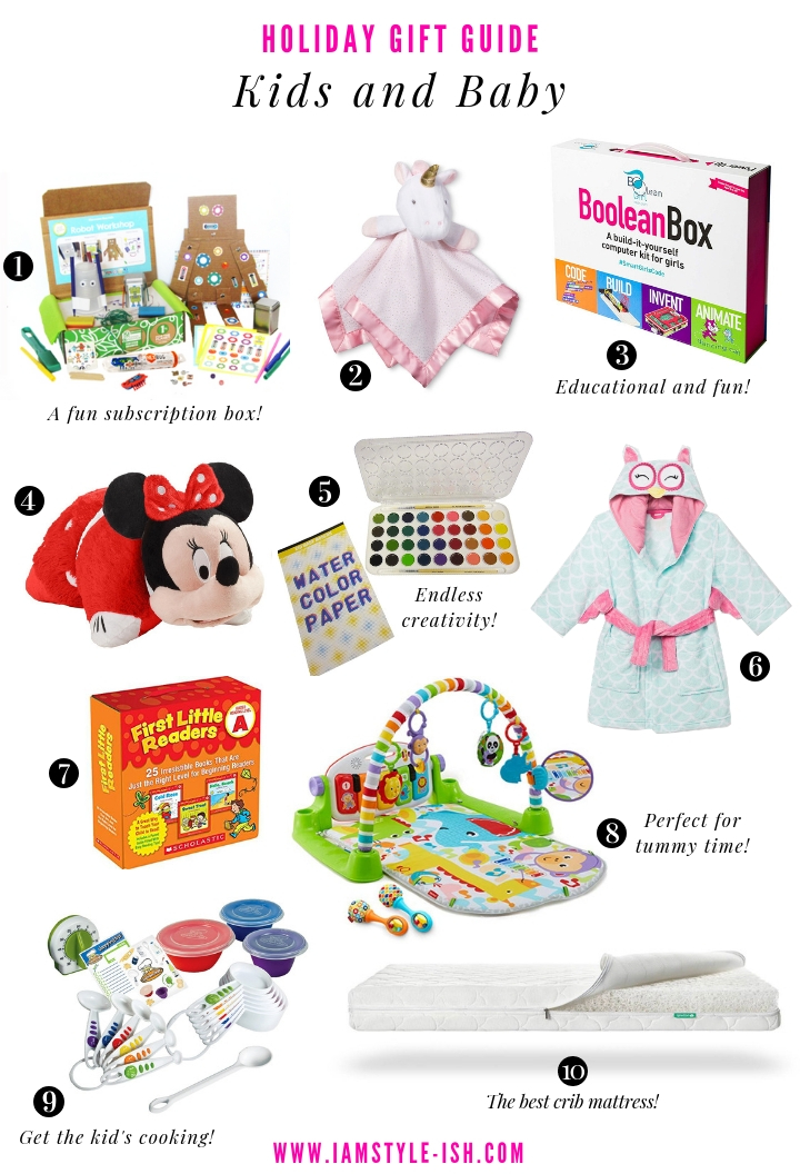 Holiday Gift Guide: The best presents for Kids and Baby