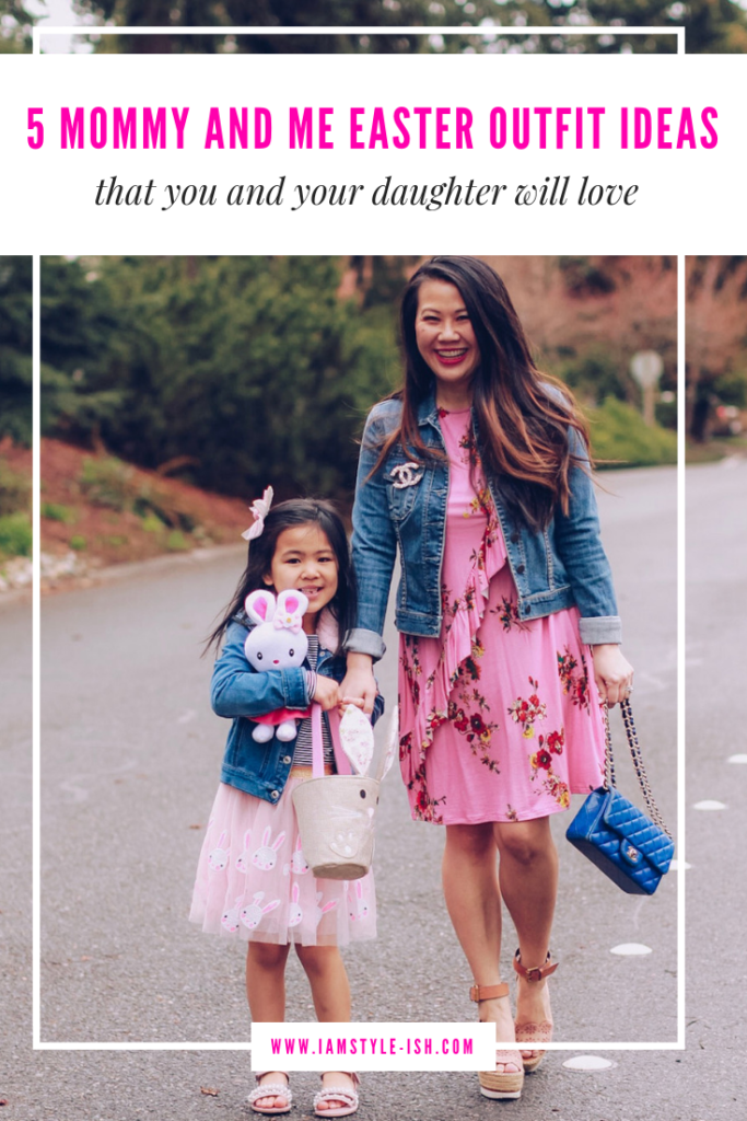 7ab438089e mommy and me easter outfit ideas, easter outfits for moms and daughters, matching  mom