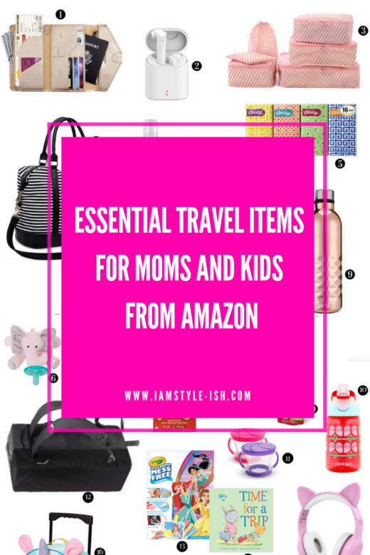 5365c872 Kids. essential travel items for moms from amazon, amazon travel essentials,  what to pack for