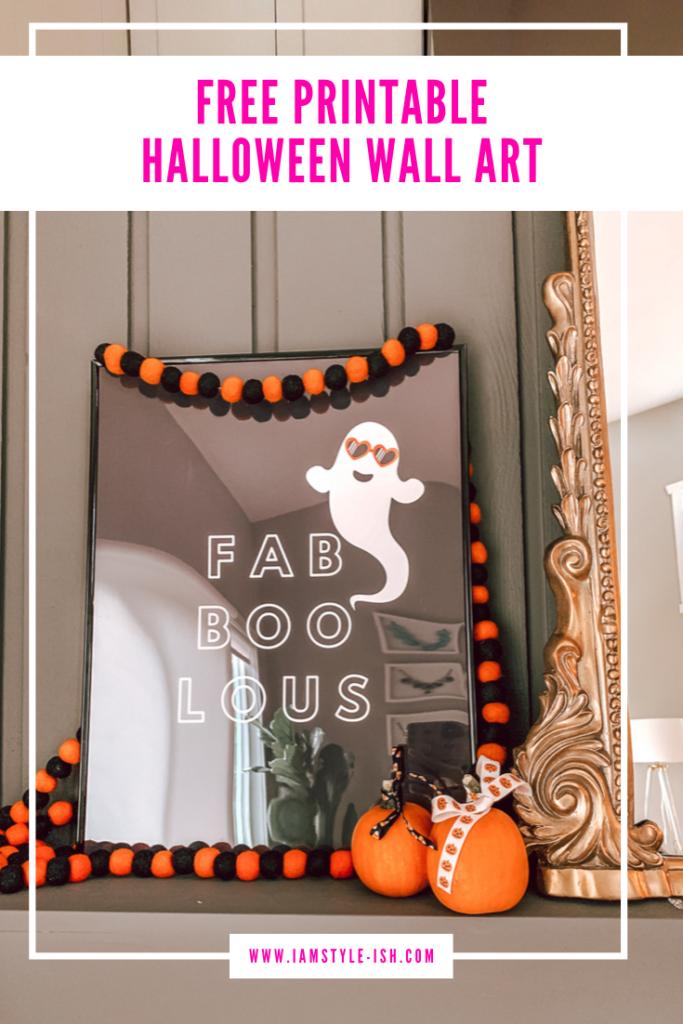 Easy Diy Halloween Home Decor Free Printable Halloween